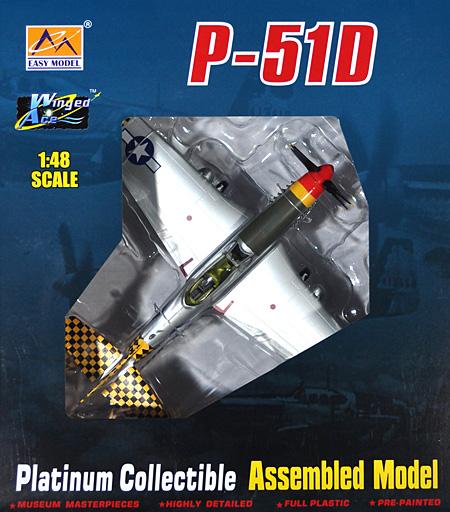 P-51K マスタング 第23戦闘飛行隊完成品(イージーモデル1/48 ウイングド エース (Winged Ace)No.39303)商品画像