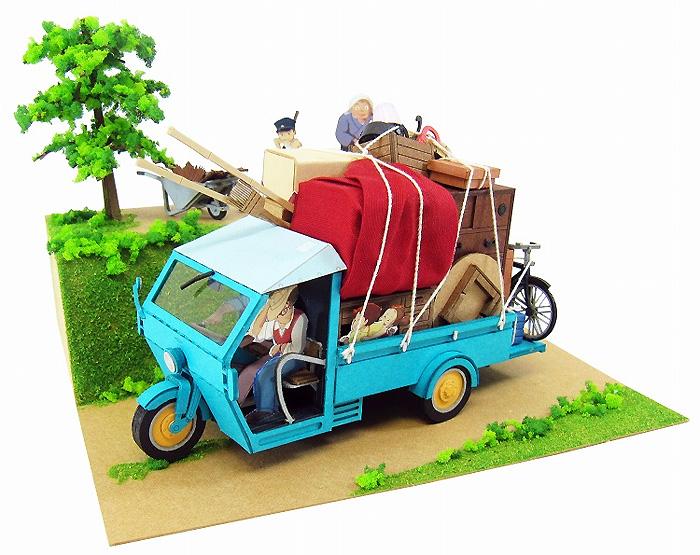 草壁家の引越し (となりのトトロ)ペーパークラフト(さんけいジブリシリーズNo.MK07-014)商品画像_2