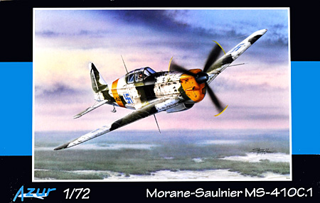 モラーヌ ソルニエ MS-410C.1プラモデル(アズール1/72 航空機モデルNo.A075)商品画像