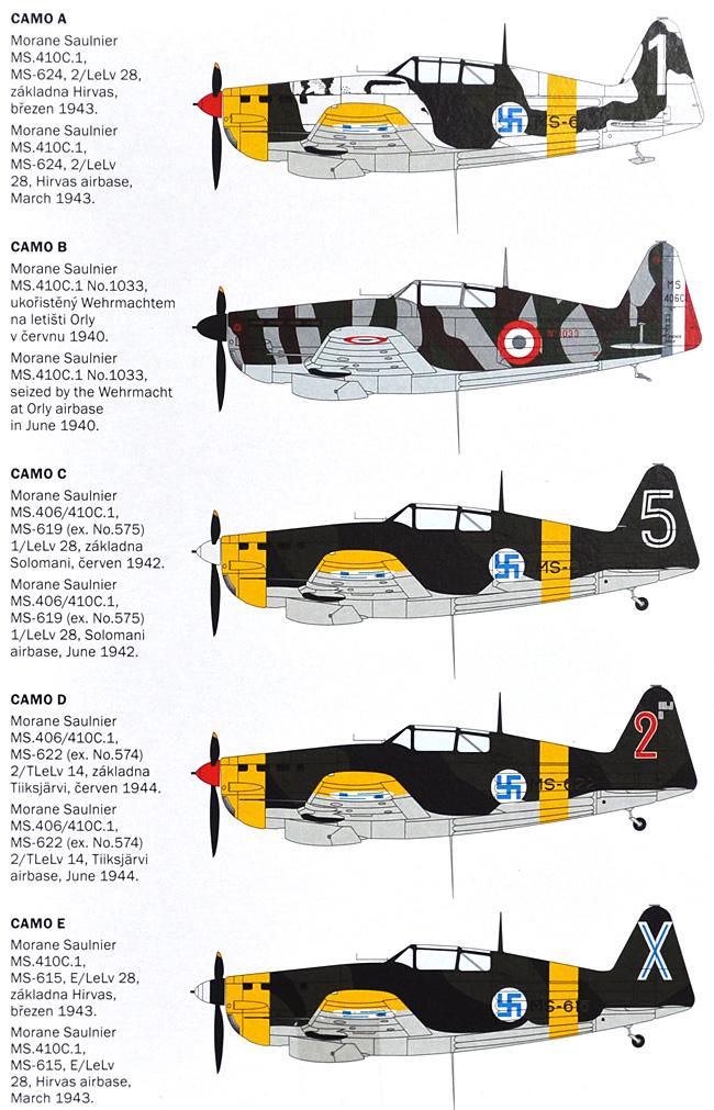 モラーヌ ソルニエ MS-410C.1プラモデル(アズール1/72 航空機モデルNo.A075)商品画像_2