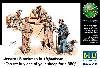 アメリカ 現用戦車兵 & 現地老人 + 羊 (アフガン戦)