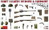 ソビエト歩兵 武器・装備品