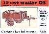 CMP 10cwt トレーラー GS