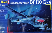 レベル1/48 飛行機モデルメッサーシュミット Bf110G-4 夜間戦闘機