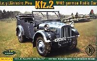 ドイツ ストゥーバー Kfz.2 軽四輪駆動車 無線搭載タイプ