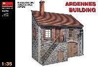 ミニアート1/35 ビルディング&アクセサリー シリーズアルデンヌの建物