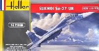 スホーイ Su-27UB ソビエト戦闘機