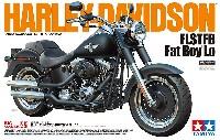 タミヤ1/6 オートバイシリーズハーレーダビッドソン FLSTFB ファットボーイ ロー