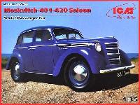 ICM1/35 ミリタリービークル・フィギュアロシア モスクビッチ 401-420 サルーンカー
