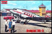ローデン1/144 エアクラフトアメリカ ダグラス DC-3 ダコタ旅客機 1930年代