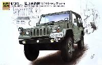 モノクローム1/35 AFV陸上自衛隊 1/2t トラック 2006