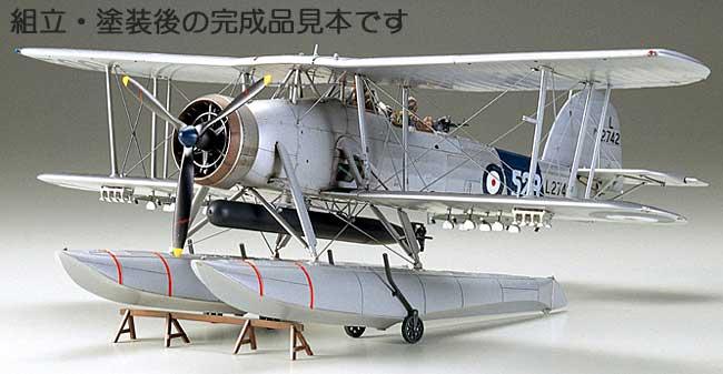 フェアリー ソードフィッシュ Mk.1 水上機型プラモデル(タミヤ1/48 傑作機シリーズNo.071)商品画像_3
