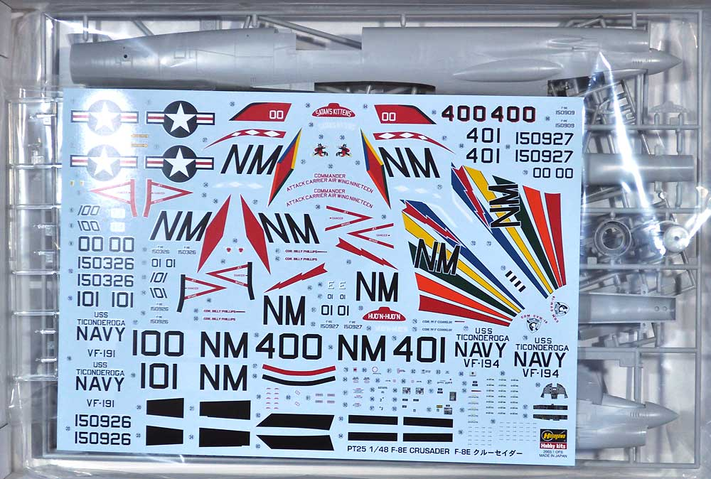 F-8E クルーセイダープラモデル(ハセガワ1/48 飛行機 PTシリーズNo.PT025)商品画像_1