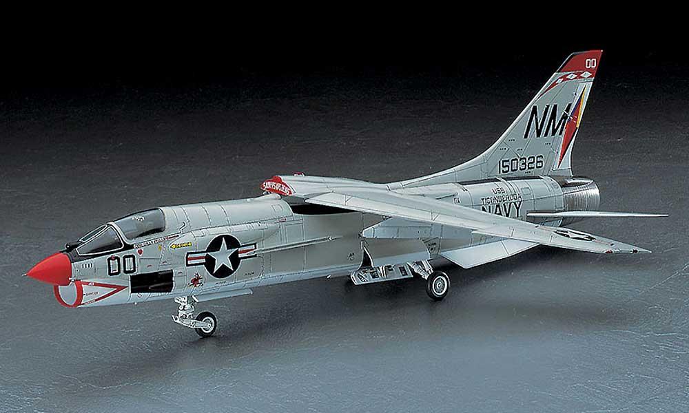 F-8E クルーセイダープラモデル(ハセガワ1/48 飛行機 PTシリーズNo.PT025)商品画像_2