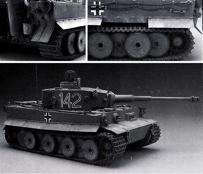 ティーガー 1型 戦車用履帯 (初期型) (可動式)プラモデル(モデルカステン連結可動履帯 SKシリーズNo.SK-002)商品画像_1