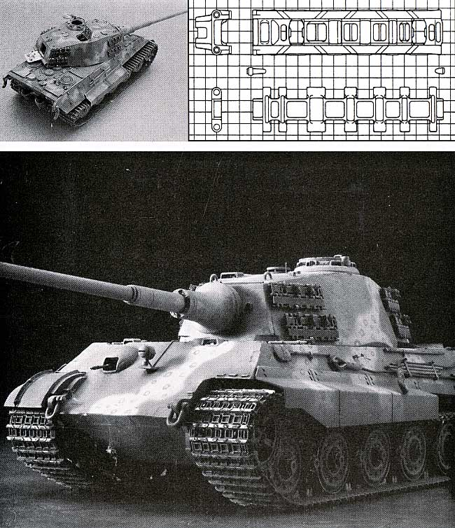 ティーガー 2型 戦車用履帯 (可動式)プラモデル(モデルカステン連結可動履帯 SKシリーズNo.SK-006)商品画像_1