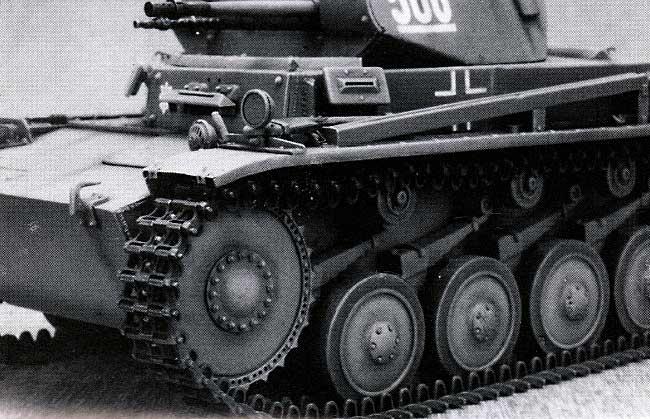 2号戦車 / ヴェスペ用履帯 (可動式)プラモデル(モデルカステン連結可動履帯 SKシリーズNo.SK-025)商品画像_1