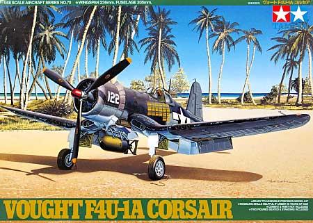 ヴォート F4U-1A コルセアプラモデル(タミヤ1/48 傑作機シリーズNo.070)商品画像