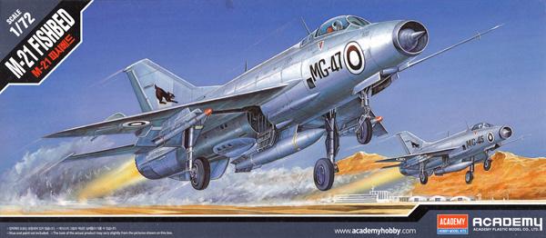 Mig-21 フィッシュベットプラモデル(アカデミー1/72 AircraftsNo.12442)商品画像