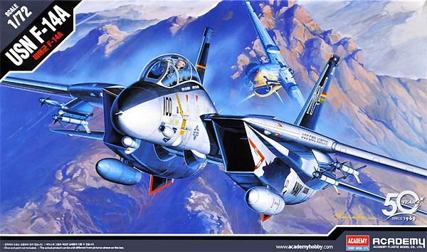 USN F-14A トムキャットプラモデル(アカデミー1/72 AircraftsNo.12471)商品画像