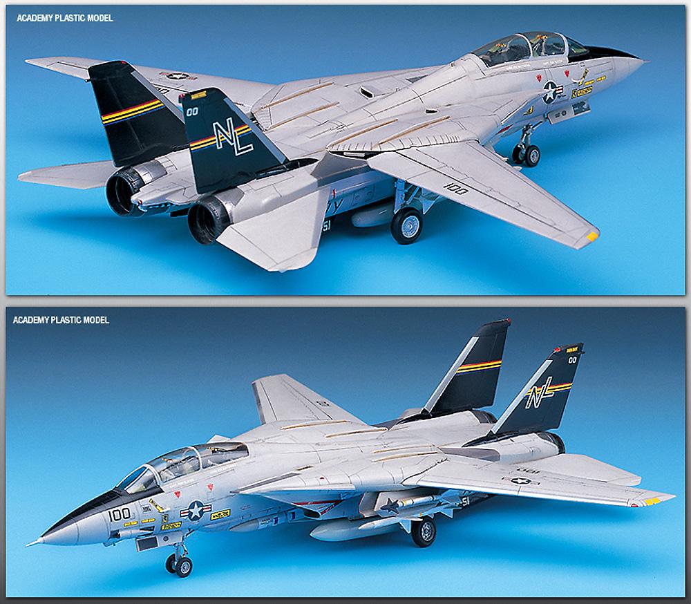 USN F-14A トムキャットプラモデル(アカデミー1/72 AircraftsNo.12471)商品画像_2