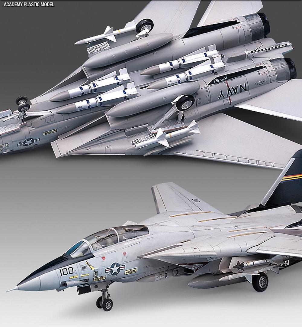 USN F-14A トムキャットプラモデル(アカデミー1/72 AircraftsNo.12471)商品画像_3