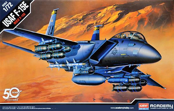 USAF F-15E ストライクイーグルプラモデル(アカデミー1/72 AircraftsNo.12478)商品画像
