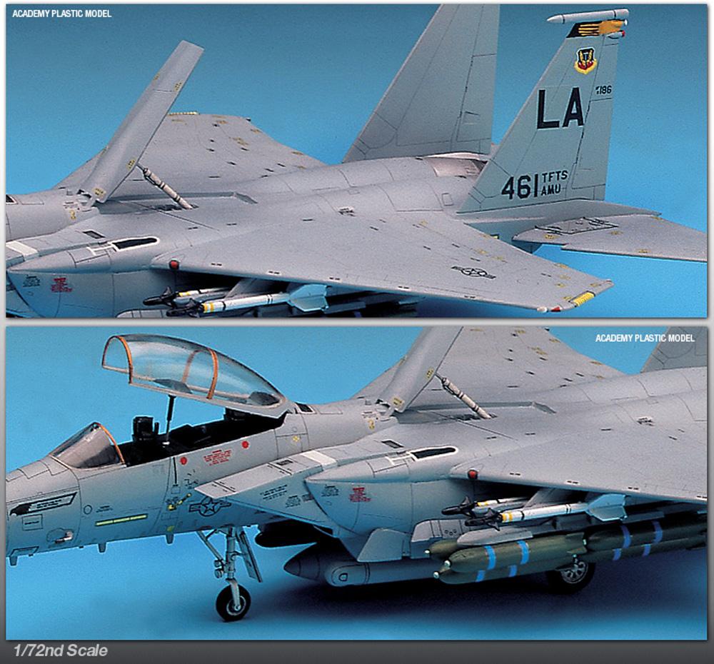 USAF F-15E ストライクイーグルプラモデル(アカデミー1/72 AircraftsNo.12478)商品画像_3