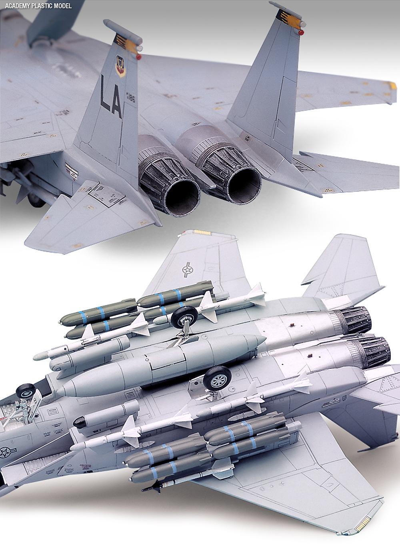 USAF F-15E ストライクイーグルプラモデル(アカデミー1/72 AircraftsNo.12478)商品画像_4