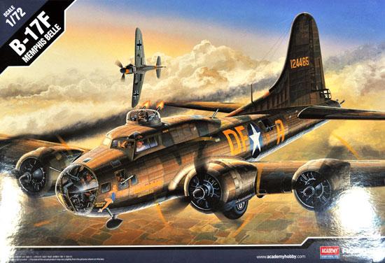 B-17F フライングフォートレス メンフィスベルプラモデル(アカデミー1/72 AircraftsNo.2188)商品画像