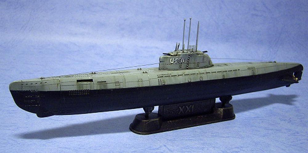 ドイツ海軍 潜水艦 Uボート タイプ 21プラモデル(AFV CLUB1/350 潜水艦No.SE73501)商品画像_2