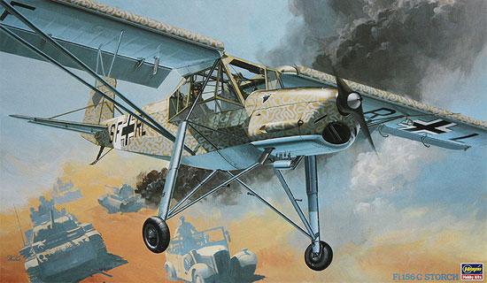 Fi156C シュトルヒプラモデル(ハセガワ1/32 飛行機 StシリーズNo.ST008)商品画像