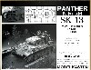 パンター戦車用 履帯 初期型 (可動式)
