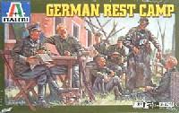 イタレリ1/35 ミリタリーシリーズドイツ 休憩キャンプセット