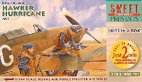 SWEET1/144スケールキットホーカー ハリケーン Mk1 (ファブリック ウイング)