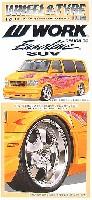 フジミ1/24 パーツメーカーホイールシリーズワーク ユーロラインデザインLS SUV (18インチ)