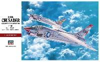 ハセガワ1/48 飛行機 PTシリーズF-8E クルーセイダー