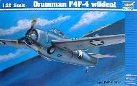 トランペッター1/32 エアクラフトシリーズグラマン F4F-4 ワイルドキャット
