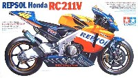 タミヤ1/12 オートバイシリーズレプソル ホンダ RC211V