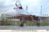 ハセガワ1/72 飛行機 限定生産Su-27 フランカー ヨーロッパ戦勝記念