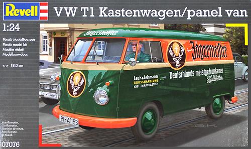フォルクスワーゲン T1 パネルバンプラモデル(レベルカーモデルNo.07076)商品画像