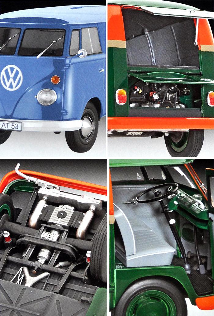 フォルクスワーゲン T1 パネルバンプラモデル(レベルカーモデルNo.07076)商品画像_2