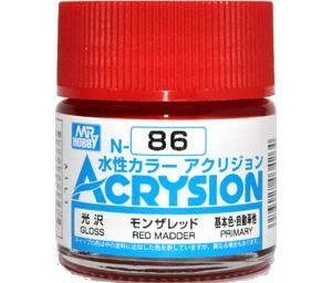 モンザレッド (光沢) (N-86)塗料(GSIクレオス水性カラー アクリジョンNo.N-086)商品画像