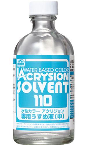 新水性カラー アクリジョン 専用うすめ液 (中)溶剤(GSIクレオス水性カラー アクリジョン うすめ液No.T-302)商品画像