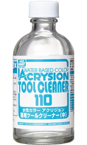 水性カラー アクリジョン 専用ツールクリーナー (中)溶剤(GSIクレオス水性カラー アクリジョン ツールクリーナーNo.T-312)商品画像