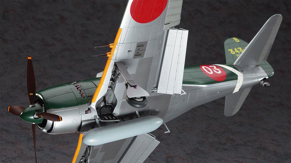 川西 N1K2-J 局地戦闘機 紫電改プラモデル(ハセガワ1/32 飛行機 StシリーズNo.ST033)商品画像_4