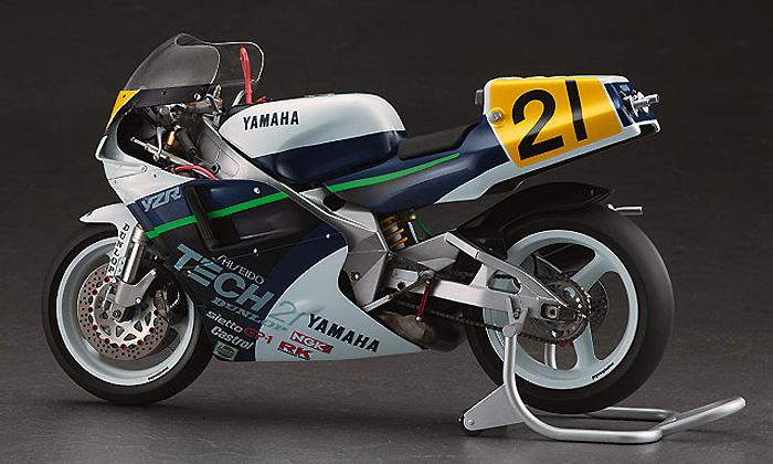 ヤマハ YZR500 (OWA8) TECH 21 1989プラモデル(ハセガワ1/12 バイクシリーズNo.21708)商品画像_3