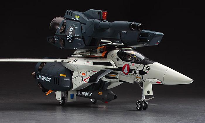 VF-1S/A ストライク /スーパー バルキリー スカル小隊プラモデル(ハセガワマクロスシリーズNo.MC003)商品画像_3