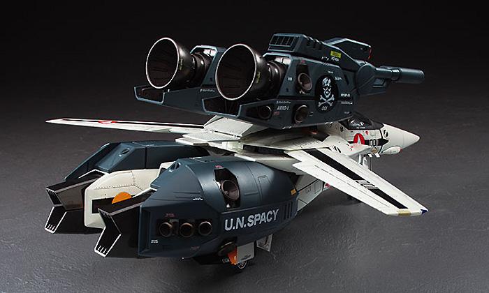 VF-1S/A ストライク /スーパー バルキリー スカル小隊プラモデル(ハセガワマクロスシリーズNo.MC003)商品画像_4