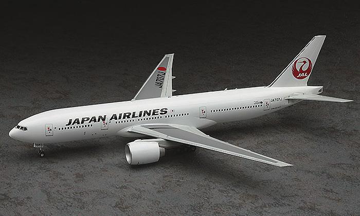 日本航空 ボーイング 777-200ERプラモデル(ハセガワ1/200 飛行機 限定生産No.10801)商品画像_3